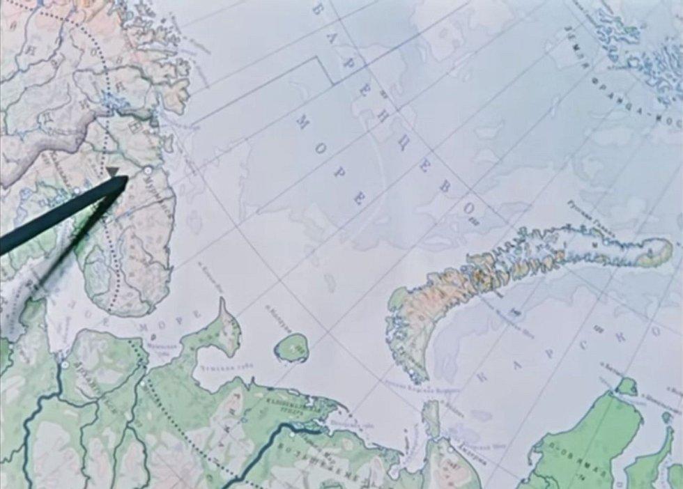Místem odpalu se stala Nová Země, souostroví v Severním ledovém oceánu v Archangelské oblasti na severu RuskZ