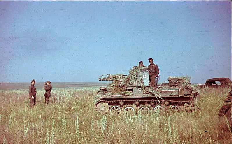 Německá obrněná jednotka na západní Ukrajině