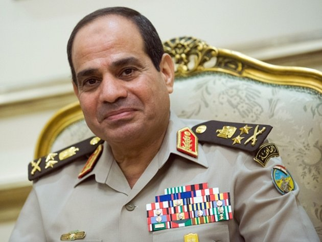 Abdel Fattah al-Sisí.