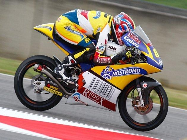 Jakub Kornfeil v GP Itálie.