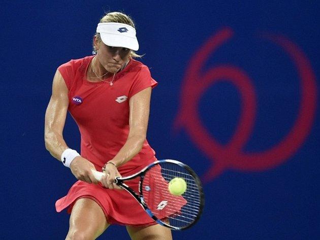 Denisa Allertová na turnaji v Kuang-čou.