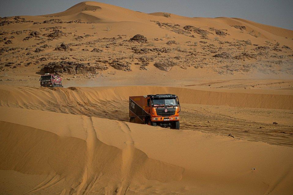 Tomáš Tomeček na Dakaru 2021