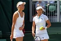 Wimbledon, den 12: Andrea Hlaváčková do finále deblu s čínskou partnerkou neprošla