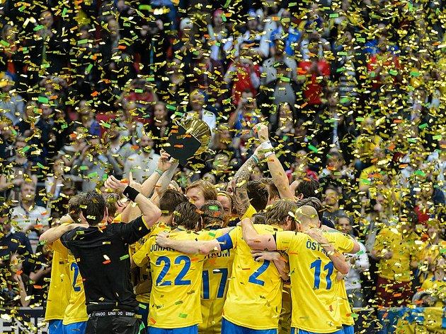 Florbalisté Švédska obhájili na mistrovství světa zlaté medaile.
