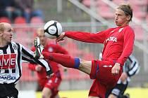 Bývalý fotbalový reprezentant Marek Heinz v dresu Brna.