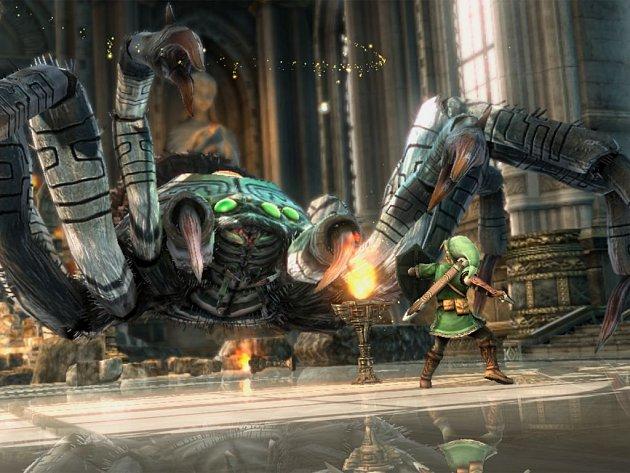 Jedna z možných podob nové počítačové hry The Legend of Zelda.