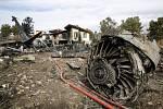 Nedaleko íránského Teheránu spadlo nákladní letadlo