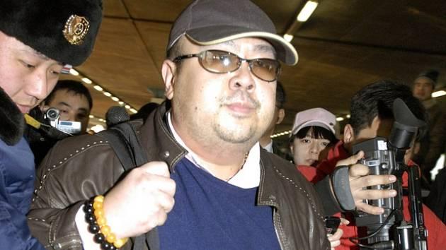 Bratr severokorejského vůdce Kim Čong-nam