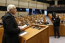 Václav Klaus přednesl projev před Evropským parlamentem