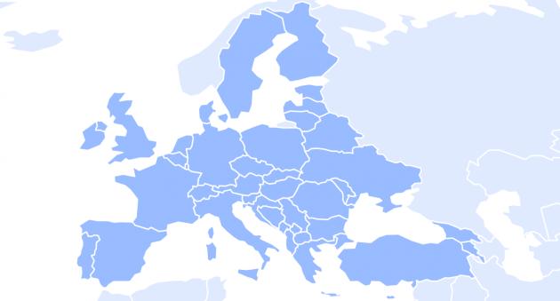 Mapa cestovatele na webových stránkách Ministerstva zahraničí