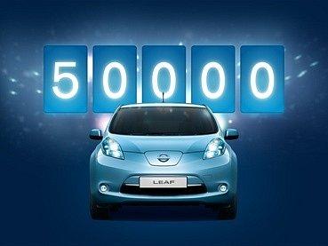 Jubilejní Nissan Leaf