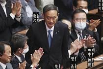 Nový japonský premiér Jošihide Suga