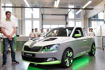 Koncept Pickup Škoda FUNstar.