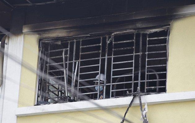 Požár v náboženské škole; Malajsie
