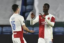 Leicester - Slavia: radost z druhé branky