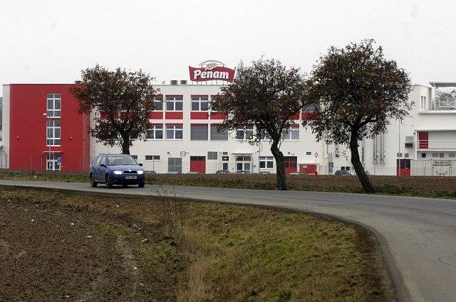 Robotizovaná pekárna Penam v Herinku u Prahy