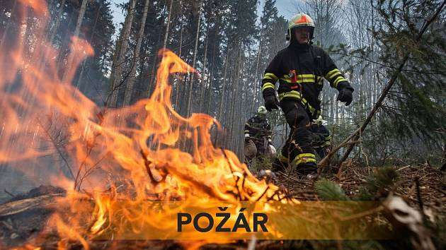 Požár (ilustrační snímek)