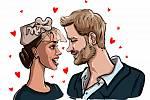 Britský princ Harry a jeho manželka Meghan