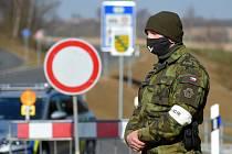 Hraniční přechod v Plesné na Chebsku