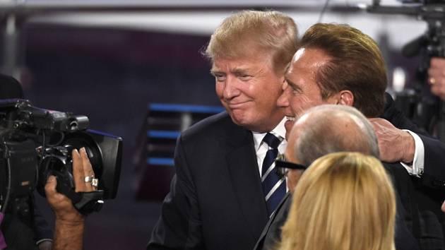 Schwarzenegger a Trump se střetli kvůli televizní show