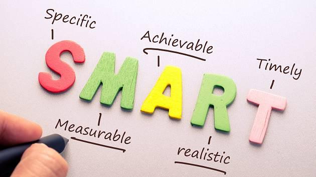 SMART je zkratkou pro to, jaké by vaše cíle měly být.