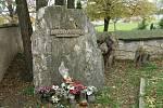 Hrob Václava Babinského v pražských Řepích.