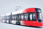 Vizualizace nové tramvaje ForCity Smart pro Bonn.