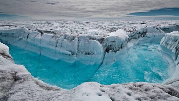 Ledovec. Ilustrační snímek