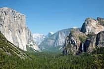 Dominanty Yosemitského národního parku. Ilustrační foto