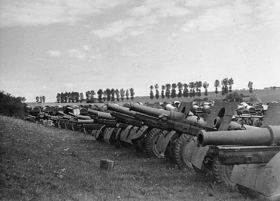 Sovětská výzbroj, kterou se zvlášť v počátcích operace Barbarossa dařilo Němcům občas ukořistit nepoškozenou