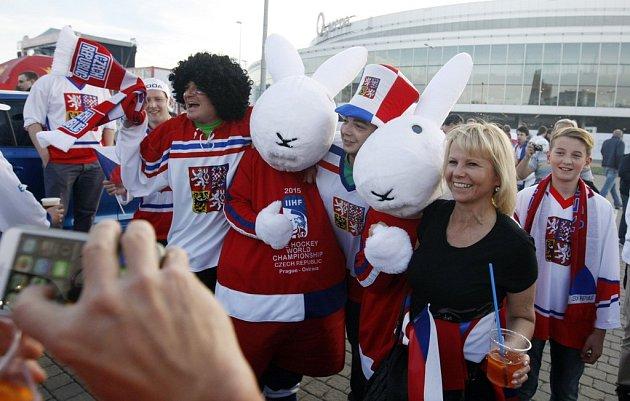 Česko vs. Kanada: Fanoušci před zápasem