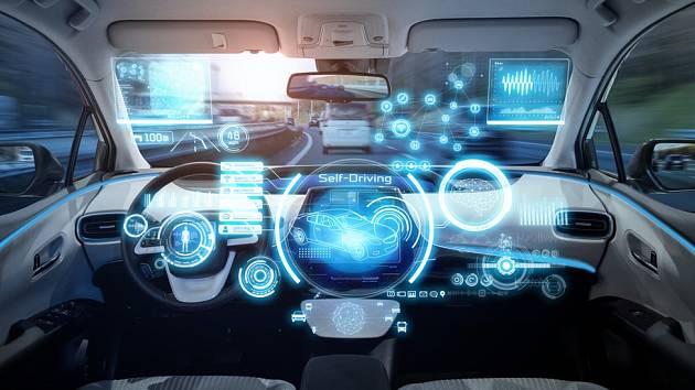 Autonomní vozy - Ilustrační foto