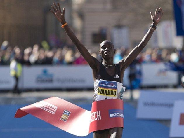 Pražský půlmaraton 2016: Daniel Wanjiru obhájil titul.