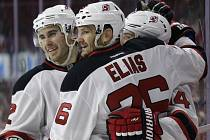 Radost hráčů New Jersey Devils.