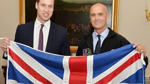 Princ William a Henry Worsley