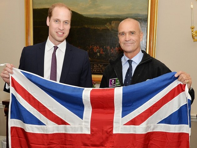 Princ William a Henry Worsley