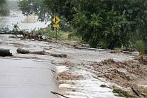 V americkém státě Colorado, který už několik dnů sužují záplavy, se pohřešuje přes 500 lidí.