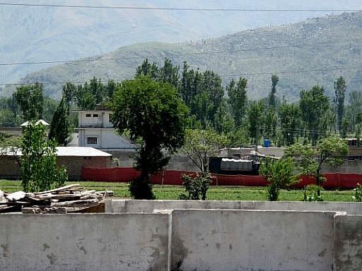Místo, na kterém se měl v Pákistánu ukrývat terorista Usáma bin Ládin
