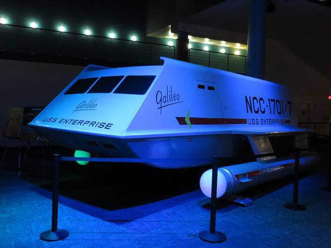 Inspirací pro letadlo s iontovým pohonem byl raketoplán z televizního seriálu Star Trek.