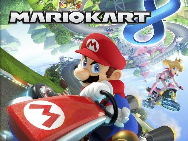 Počítačová hra Mario Kart 8.