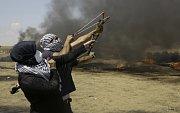 Provokace Palestinců v Gaze