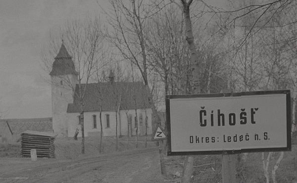Číhošť vr. 1950.