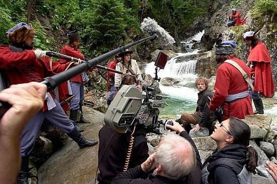 Z natáčení filmu o Jánošíkovi