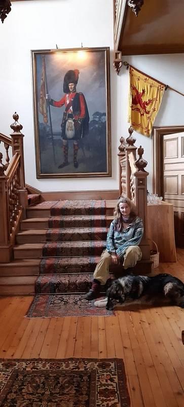 Klára Martinovská ve Skotsku