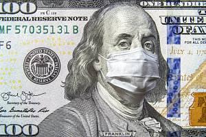OHROŽENÁ EKONOMIKA. Americký dolar jako symbol.