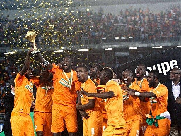 Radost fotbalistů Pobřeží slonoviny