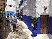 Maroko je plné plných barev. Narazíte na ně i v pevnosti v Rabatu.