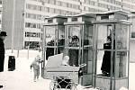 Telefonní budky na sídlišti, 80. léta 20. století