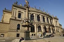 Novorenesanční budova pražského Rudolfina