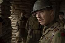 Benedict Cumberbatch ve filmu 1917. Režie: Sam Mendes